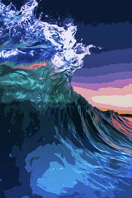 Painting - Endless Oceans by Andrea Mazzocchetti