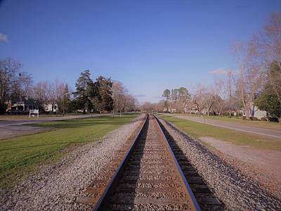 Photograph - Endless Railroad by Aaron Martens