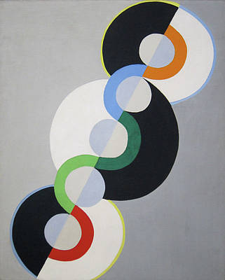 Lyrical Abstractions Painting - Endless Rhythm by Robert Delaunay