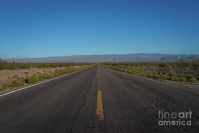 Photograph - Endless Road  by Michael Ver Sprill