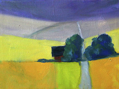 Painting - Endless Road by Nancy Merkle