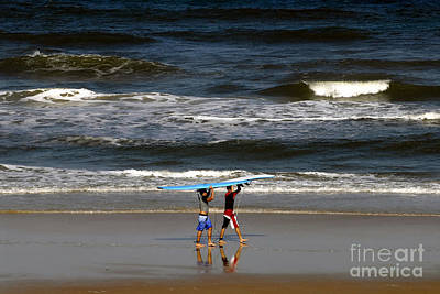 Two Waves Photograph - Endless Summer by David Lee Thompson