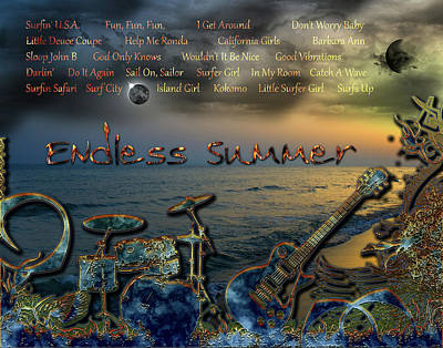Digital Art - Endless Summer by Michael Damiani