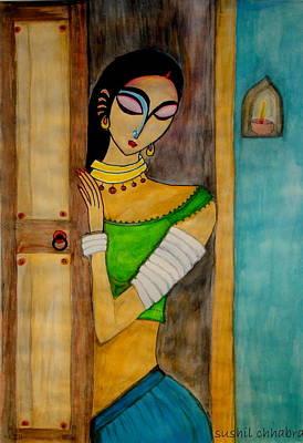 Endless Wait Art Print by sushil  Chhabra