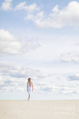 Wedding Dress Photograph - Endlessly by Evelina Kremsdorf