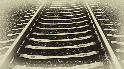 Photograph - Endloser Weg Endless Way by Eva-Maria Di Bella