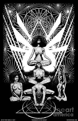 Endowment Of The Feminin Art Print
