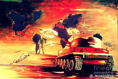 Modern Sophistication Beaches And Waves - Enemy of Progress  by Olatundun Bimbo