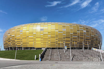 Photograph - Energa Gdansk Stadium In Poland by Michal Bednarek
