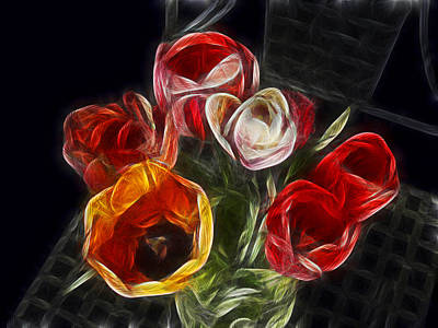 Pittsburgh According To Ron Magnes - Energetic Tulips by Joachim G Pinkawa