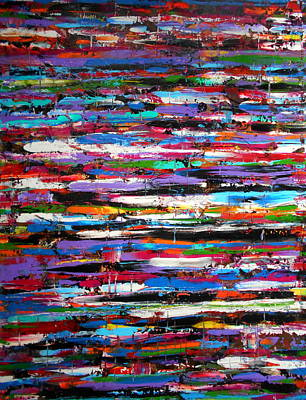 Vivid Colour Painting - Energy by Angie Wright