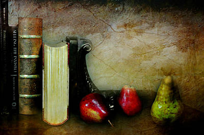 Photograph - Pears'n Books by Diana Angstadt