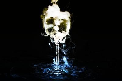Rorschach Digital Art - Energy Drink by Alexander Butler