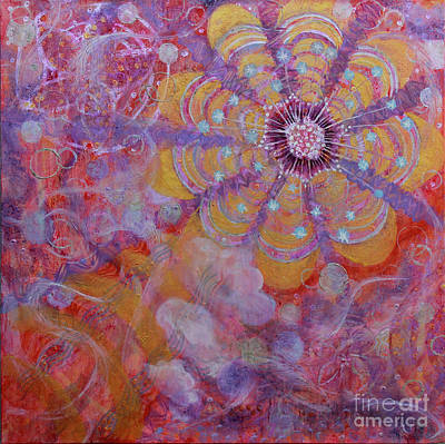 Painting - Energy Exchange by Anne Cameron Cutri
