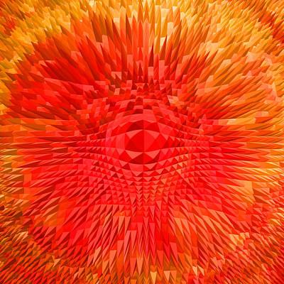 Muladhara Digital Art - Energy-explosion by Ramon Labusch