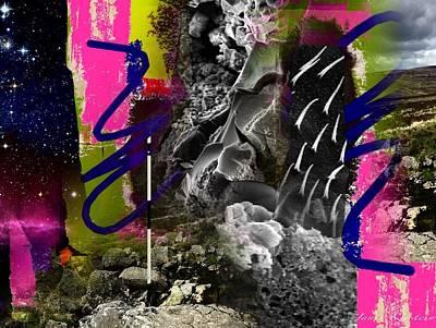 Energy Fields 1 Art Print