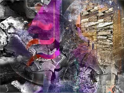 Energy Fields 4 Art Print