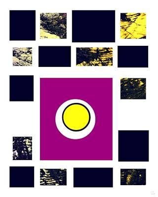 Minimalist Abstract Digital Art - Energy by Katrina Britt