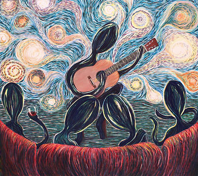 Painting - Energy Of Music by Cory Calantropio
