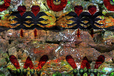 Mixed Media - Energy Of The Stone by Jolanta Anna Karolska