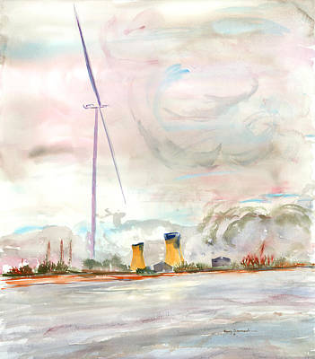 Energy On The Rhone Number One Art Print
