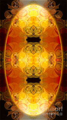 Digital Art - Energy Potentials Abstract Organic Bliss Art By Omaste Witkowski by Omaste Witkowski