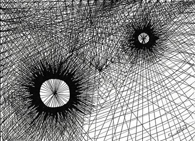 Drawing - Energy by Quwatha Valentine