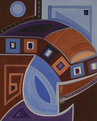 Energy Art Print by Sandy Bostelman