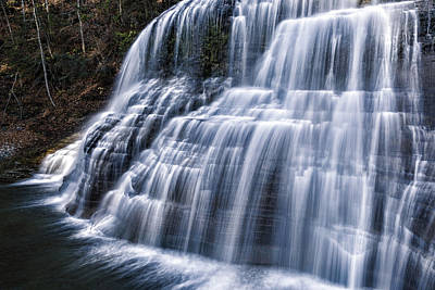 Water Droplets Sharon Johnstone - Lower Falls #1 by Stephen Stookey
