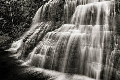 Finger Lakes Photograph - Lower Falls #3 by Stephen Stookey