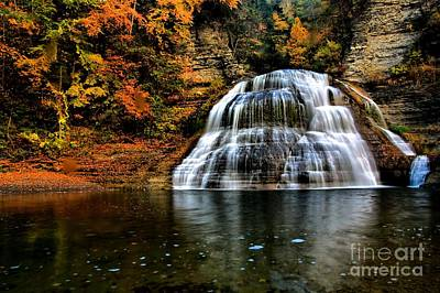 Photograph - Enfield Falls by Matthew Winn