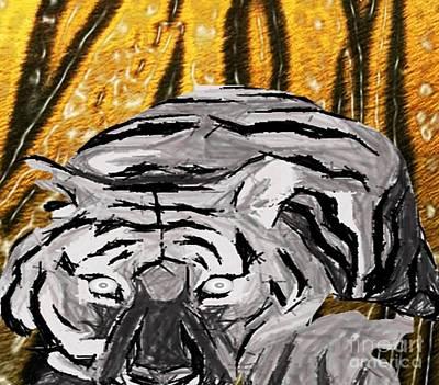 Painting - Engaging by Belinda Threeths