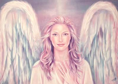 Angel Of Love Engel Der Liebe Original by Ela Nowak