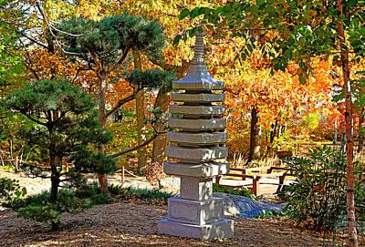 Photograph - Enger Park Japanese Gardens 3 by Robert Meyers-Lussier