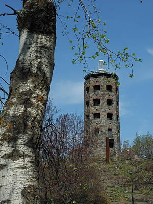 Photograph - Enger Tower by James Peterson