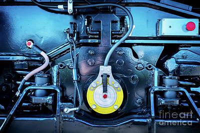 Mechanism Photograph - Engin. Railway Industry by Michal Bednarek