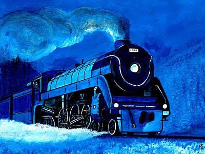 Painting - Engine # 1961 by Pj Artman