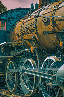 Photograph - Engine 1531 by James Canning