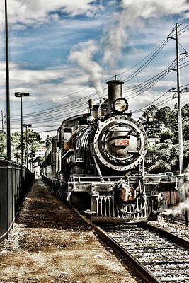 Photograph - Engine 154 by Sharon Popek