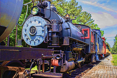 Photograph - Engine 17 by Roberta Byram