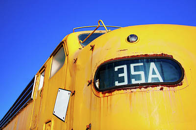 Photograph - Engine 35a by Todd Klassy
