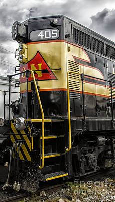 Photograph - Engine 405 by JRP Photography
