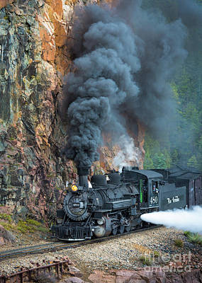 Narrow Photograph - Engine 480 by Inge Johnsson