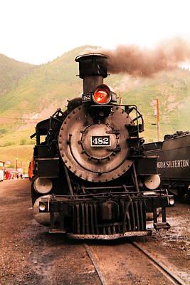 Locamotive Photograph - Engine 482  by Jeff Swan