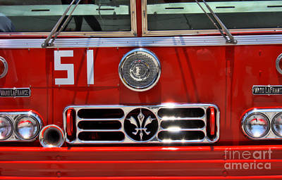 Keith Richards - Engine 51 Grill by Tommy Anderson