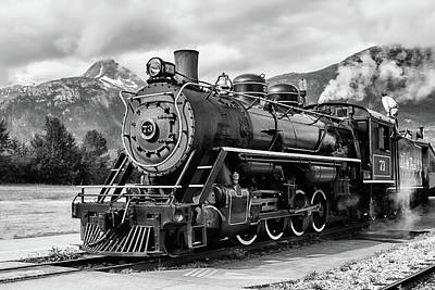 Engine 73 Art Print by Dawn Currie