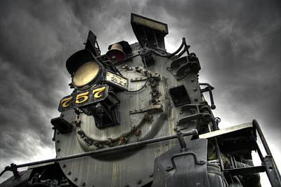 Train Digital Art - Engine 757 by Scott Wyatt