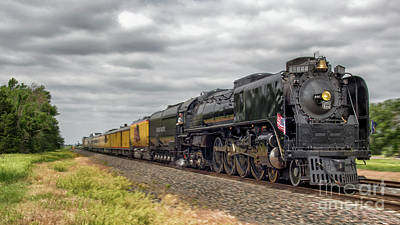 Union Pacific 844 Photograph - Engine #844 Enroute by Nathan Gingles