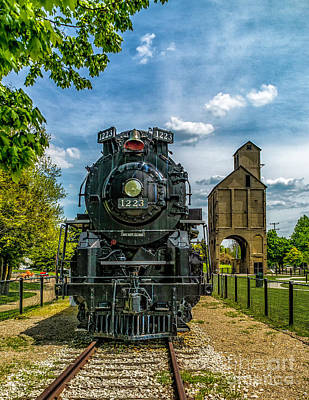 Photograph - Engine And Tower by Nick Zelinsky