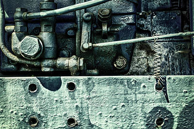 Photograph - Engine Block Inner Workings by John Williams